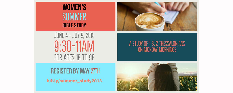 Women's 2018 Summer Bible Study