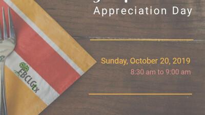 Sunday School Appreciation Day