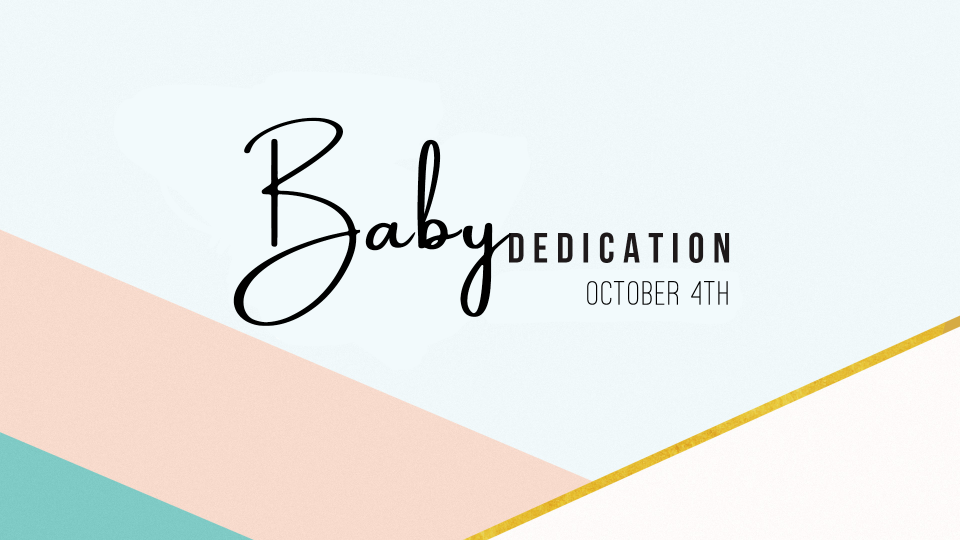 Baby Dedication Day