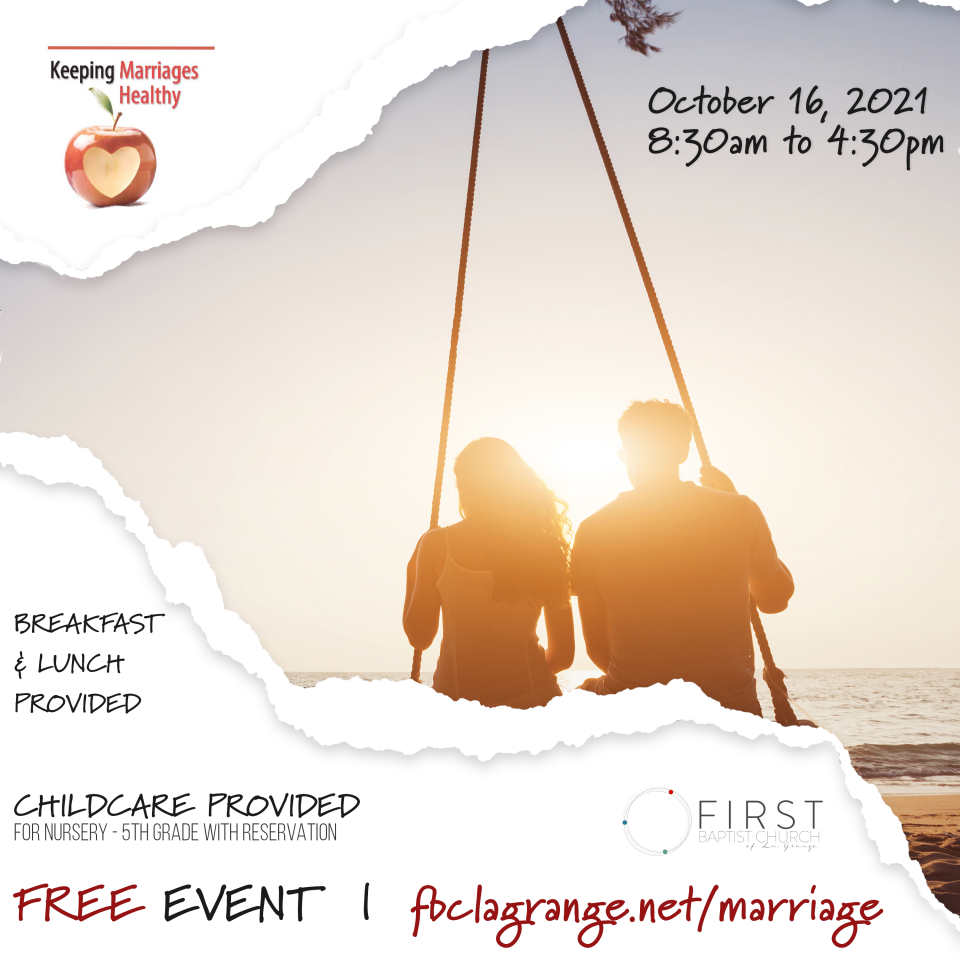 Keeping Marriages Healthy